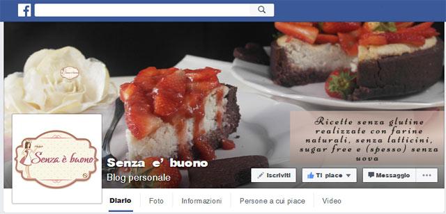 Pagina Facebook Senza è buono