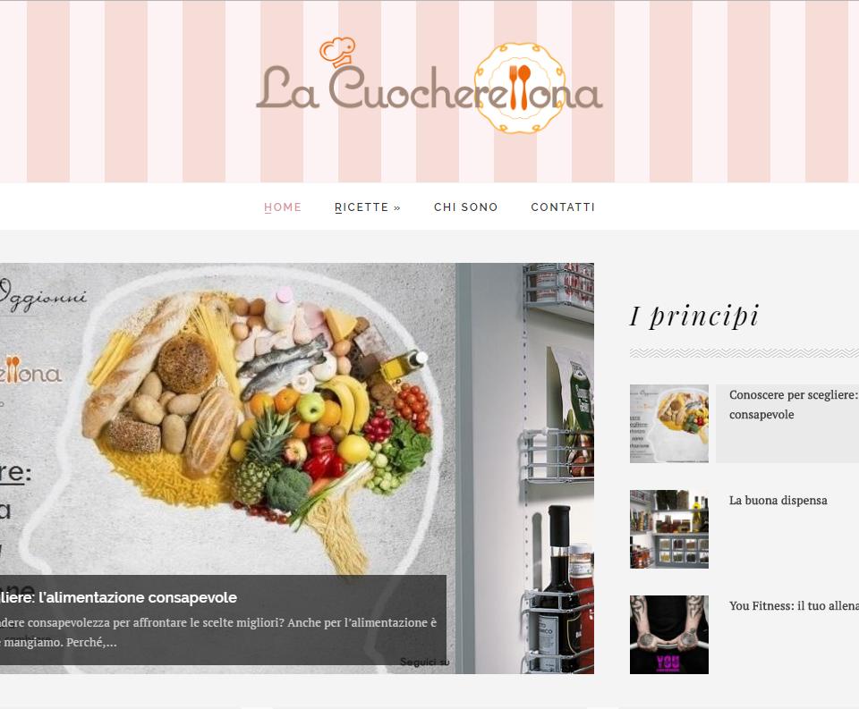 La Cuocherellona, blog di ricette