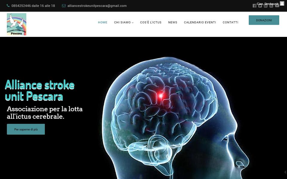 Associazione no profit Alliance Stroke unit Pescara